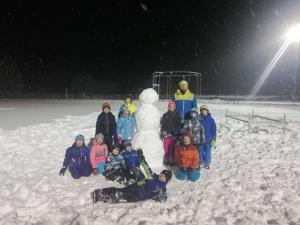 2019 Training im Schnee
